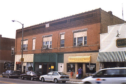 Historic Structures of Lowell, Indiana - Lowell Lodge Building