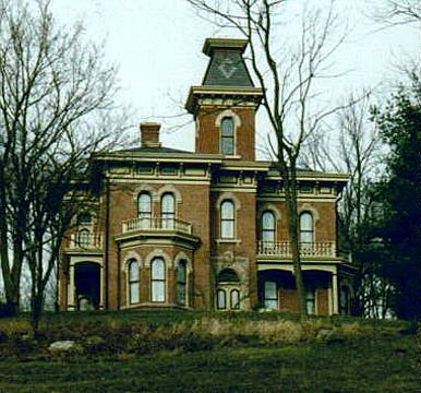 David Enoch Beem House Spencer Indiana , Owen County