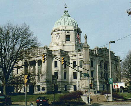 Monroe County Courthouse Bloomington Indiana
