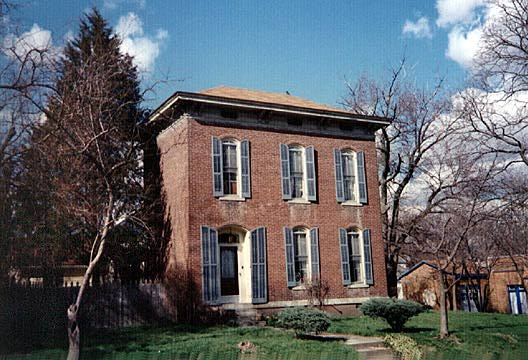 Historic Structures of Franklin, Indiana - Commercial - August Zeppenfeld House - Italianate