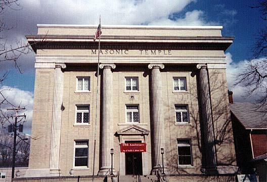 Franklin, Indiana - Masonic Temple