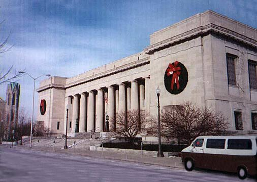 Central Library, Classical Revival, Public Buildings of Indianapolis, Indiana
