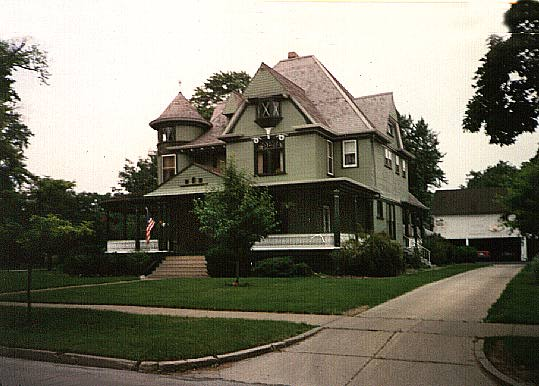 A home of the Queen Anne style, Crown point, Indiana