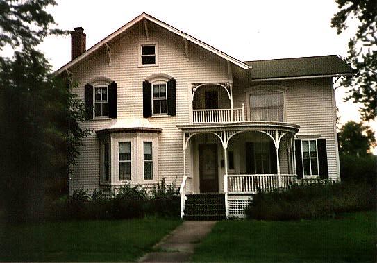 stick-style historic house, Crown Point, Indiana
