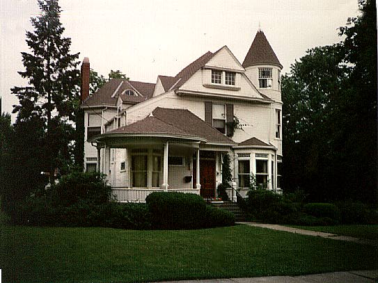 Queen Anne-style home, Crown Point, Indiana