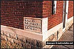 Endangered Buildings of Northwest Indiana - Porter Town Hall corner stone
