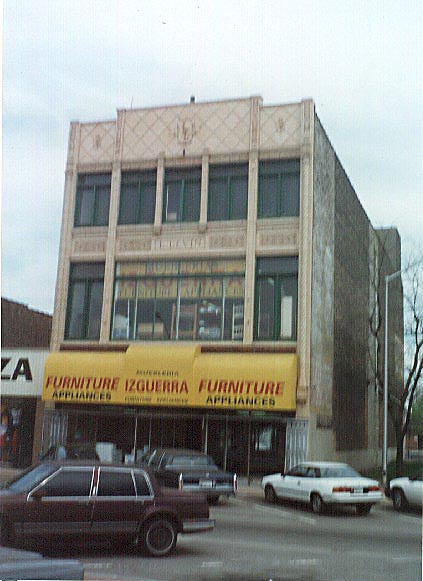 East Chicago - Chicago style commercial building