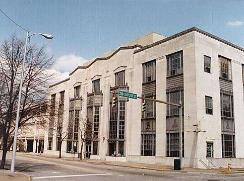 Evansville, Indiana - Art Deco Central Library