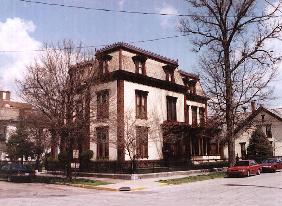 Evansville, Indiana - Reitz House - Second Empire