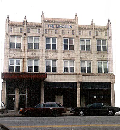 Colonial Revival Lincoln Hotel, State Street, Hammond Indiana