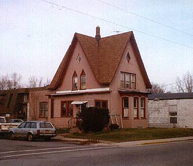 Picturesque gable-front house, Hobart, Indiana