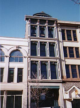 Lafayette, Indiana - Perrin Building, 1877