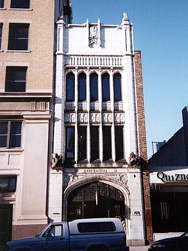 Historic Structures of Lafayette, Indiana - Commercial Buildings - David E. Ross Building,