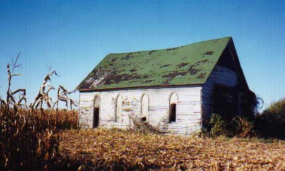 Marshall County Indiana - Abandoned church or school building