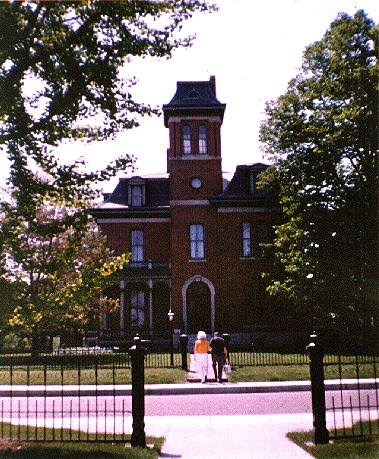 Images of Indianapolis Indiana - Victorian Morris Butler House is now operated as a museum by Historic Landmarks Foundation of Indiana