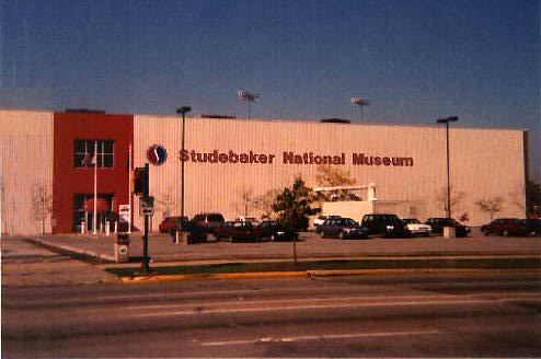 The Studebaker Museum, where 114 years of Studebaker history is preserved, South Bend Indiana